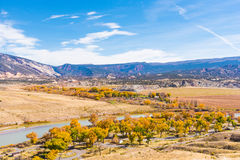 Overlooking Dinosaur National Monument Royalty Free Stock Images