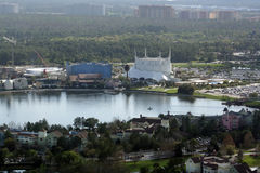 Overlooking Dowtown Disney, Orlando Stock Image