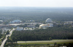Overlooking Epcot Center, Orlando Royalty Free Stock Image