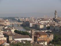 Overlooking Florence Stock Photo
