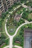 Overlooking Garden Stock Photography