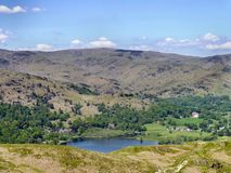 Overlooking Grasmere, Lake District Stock Image