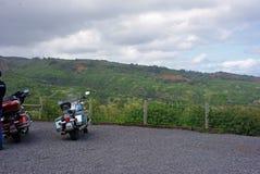 Overlooking A Hawaiian Landscape Royalty Free Stock Photos