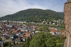 City of Heidelberg, Germany stock images