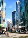Overlooking Hong Kong scenery(The street ) Stock Photo