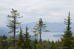 Overlooking Howe Sound Royalty Free Stock Photography