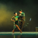 Overlooking the-the identity of the mystery-Tango Dance Drama