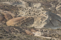 Overlooking The John Day Fossil Beds Oregon Royalty Free Stock Image