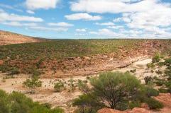 Overlooking Kalbarri National Park royalty free stock image