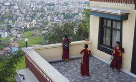 Overlooking Kathmandu Stock Photos