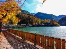 Lake Konigsee View royalty free stock photos