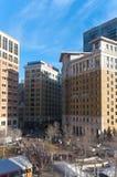 Overlooking Landmark Plaza in St. Paul Royalty Free Stock Photography