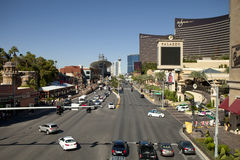 Overlooking the Las Vegas Blvd Stock Photos