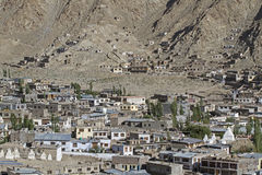 Overlooking Leh, capital of Ladakh Royalty Free Stock Images