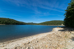 Overlooking Long Pine Reservoir in Michaux State Forest, Pennsyl Stock Photo