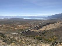 Overlooking Mono Lake stock photography
