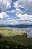 Overlooking nake nakuru Royalty Free Stock Images