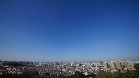 Overlooking panoramic china urban. Gh2_06703 stock footage
