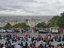 Overlooking Paris Stock Image