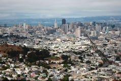 Overlooking San Francisco Stock Image