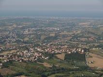 Overlooking OF SAN MARINO REPUBLIC Stock Images