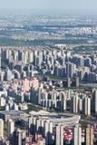 Overlooking shanghai Stock Photography
