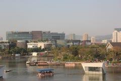 Overlooking the shenzhen joy coast shopping center Royalty Free Stock Images