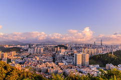 Overlooking Shenzhen Royalty Free Stock Images