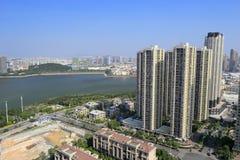 Overlooking shimao hubinshoufu residential area Stock Photos
