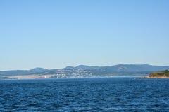 Overlooking the Straits of Juan de Fuca Stock Images