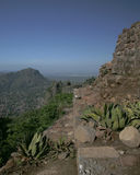 Overlooking Tepoztlan royalty free stock photos