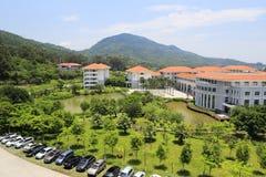 Overlooking tianzhu resorts hotel Royalty Free Stock Photo