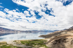 Overlooking Tso Moriri in Ladakh, India Royalty Free Stock Photo
