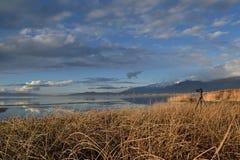 Overlooking Utah Lake Royalty Free Stock Images