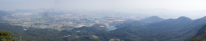 Overlooking of XiaMen HaiCang District Stock Images