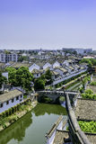 overlooking Xiaonan River royalty free stock photography