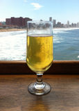 Overlookinng de bière le sean Image libre de droits
