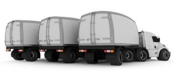 Overmaatse Beeldverhaalvrachtwagen Royalty-vrije Stock Fotografie