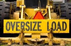 Overmaatse Lading royalty-vrije stock foto's