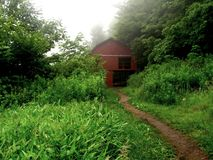 Overmountain Shelter Stock Photo