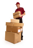 Overnight delivery Stock Photography