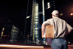 Overnight Parcel Delivery Stock Photos