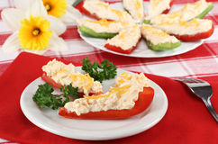 Overnight Stuffed Peppers Hors d'oeuvre Royalty Free Stock Images