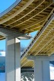 Overpass γεφυρών Στοκ Εικόνες