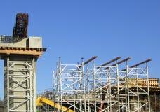 overpass κατασκευής Στοκ Εικόνα