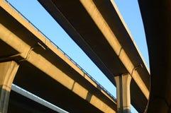 overpass πόλεων Στοκ Εικόνες