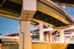 Overpass στην Οζάκα στοκ εικόνες