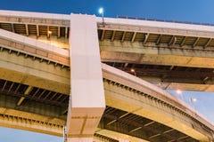 Overpass στην Οζάκα στοκ φωτογραφία