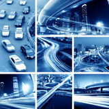 Overpass At Night Royalty Free Stock Photo