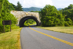 Overpass on the Blue Ridge Parkway Royalty Free Stock Images
